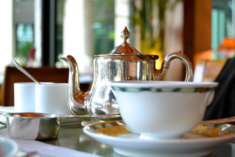 The Peninsula Bangkok - Perfekter grüner Tee