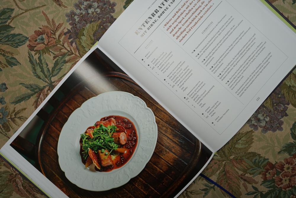 Tim Raue - Rezepte aus der Brasserie - Entenbratwurst