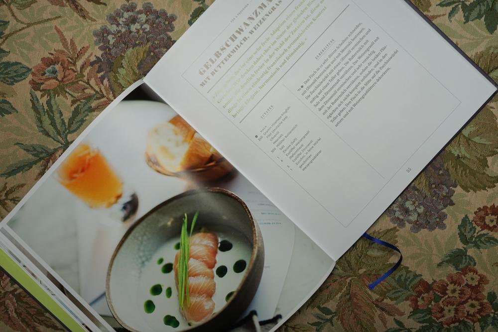 Tim Raue - Rezepte aus der Brasserie - Gelbschwanzmakrele Rezept