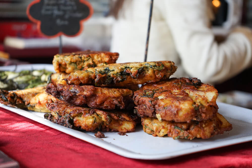 Wild Oats Community Farmers' Market - Spinat Fritters