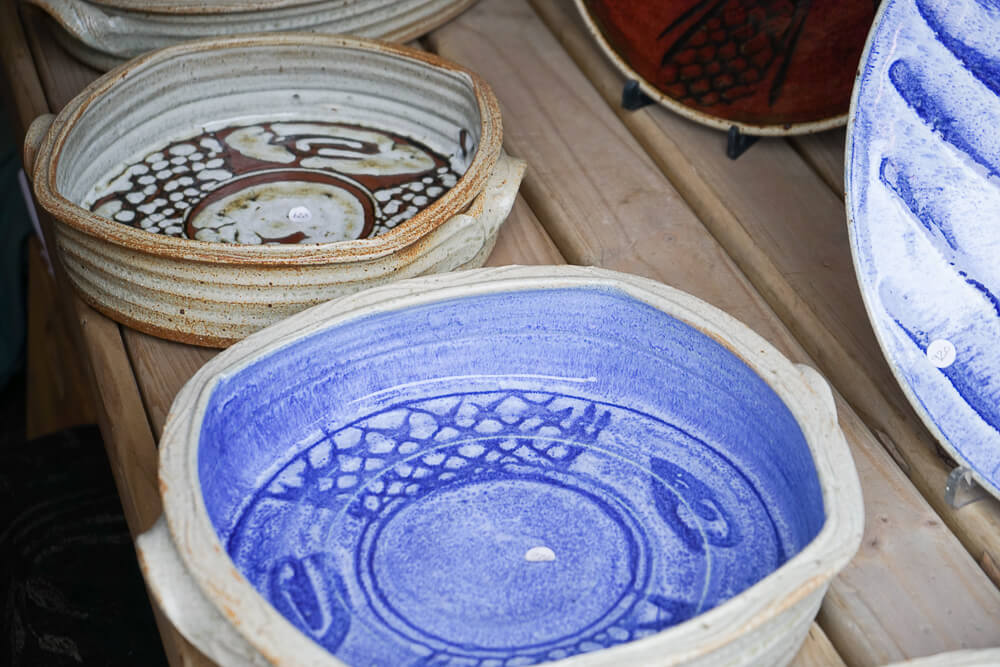 Wild Oats Community Farmers' Market - handmade Porzellan