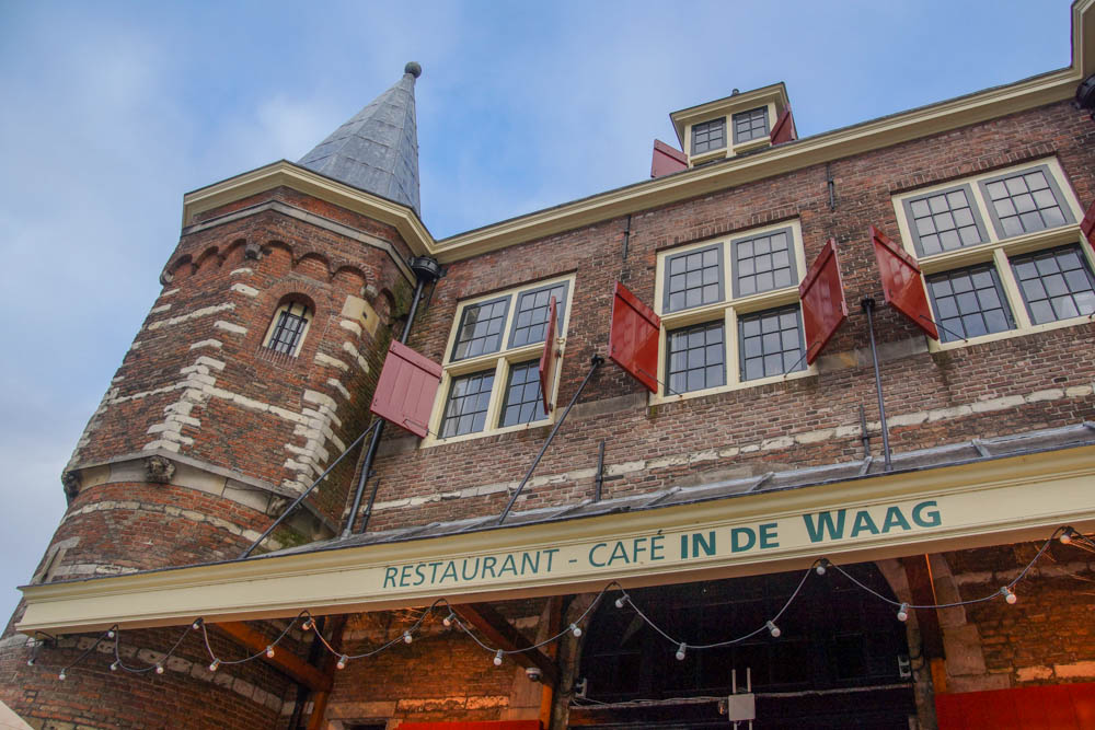 A-ROSA-Silva - Cafe in de Waag in Amsterdam