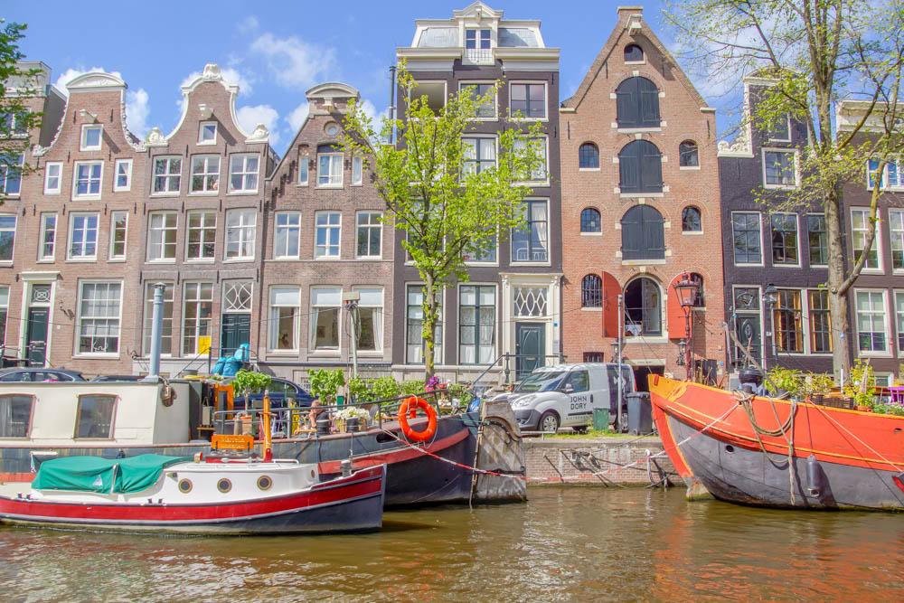 A-ROSA-Silva - Die typische Architaktur in Amsterdam