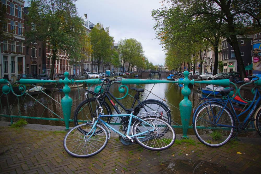 A-ROSA-Silva - Grachten Amsterdam und Räder