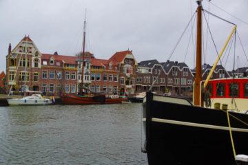 A-ROSA-Silva Rhein Erlebnis Kurs Amsterdam - Blick auf Hoorn