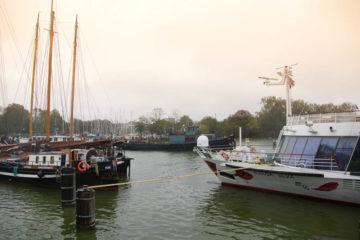 A-ROSA-Silva Rhein Erlebnis Kurs Amsterdam - Im Hafen