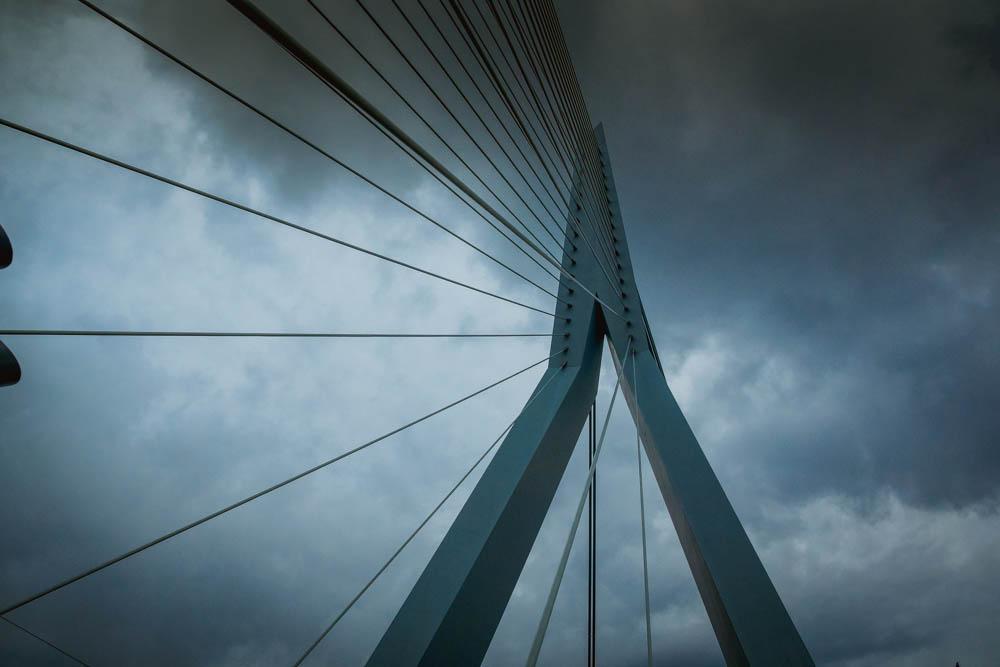 A-Rosa Silva - Kurs Amsterdam - Erasmusbrücke in Rotterdam