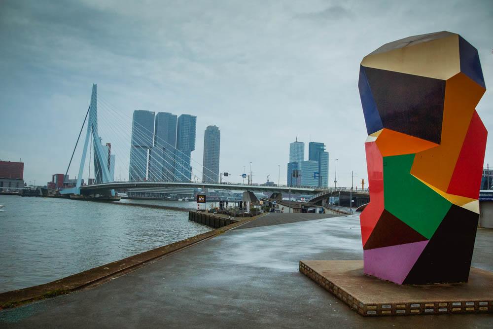 A-Rosa Silva - Kurs Amsterdam - Skyline von Rotterdam