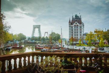 A-Rosa Silva - Kurs Amsterdam - Yachthafen von Rotterdam