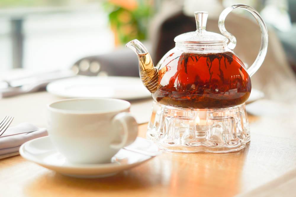 Chayka Restaurant, St. Petersburg - Große Teeauswahl