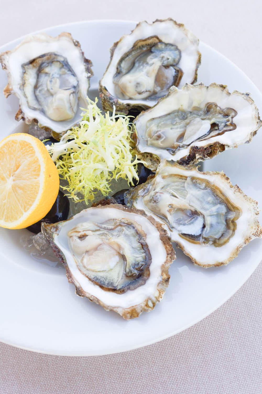 Chayka Restaurant, St. Petersburg - feinste japanische Austern