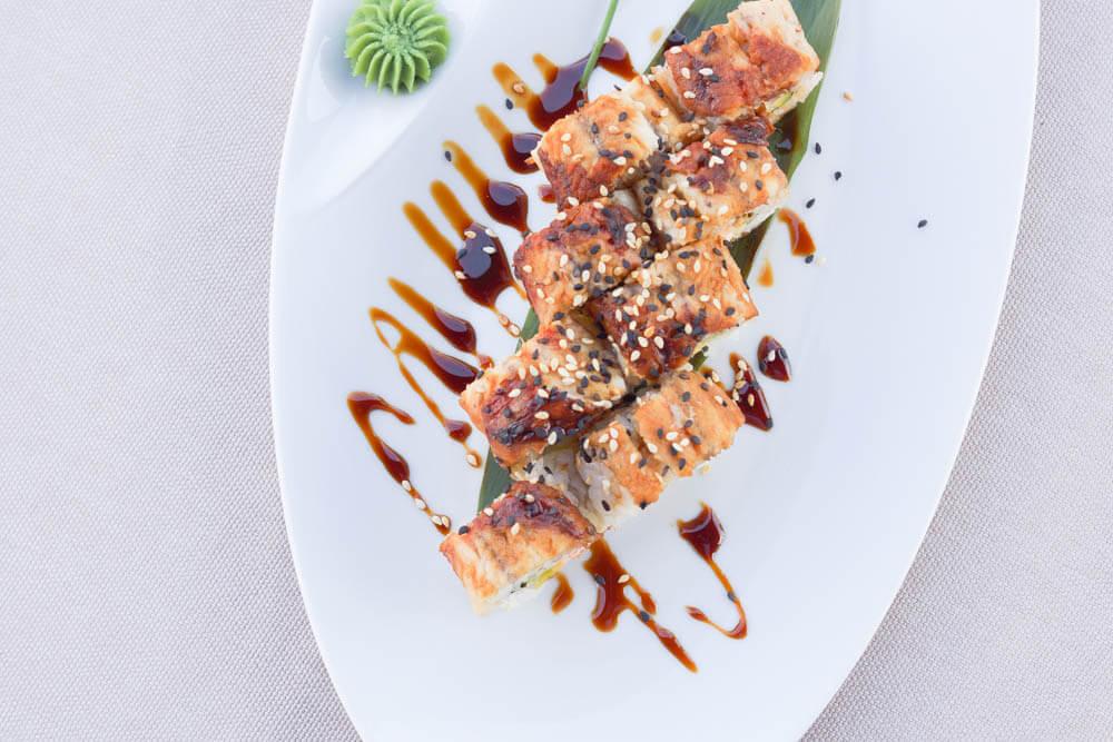 Chayka Restaurant, St. Petersburg - frische Sushis