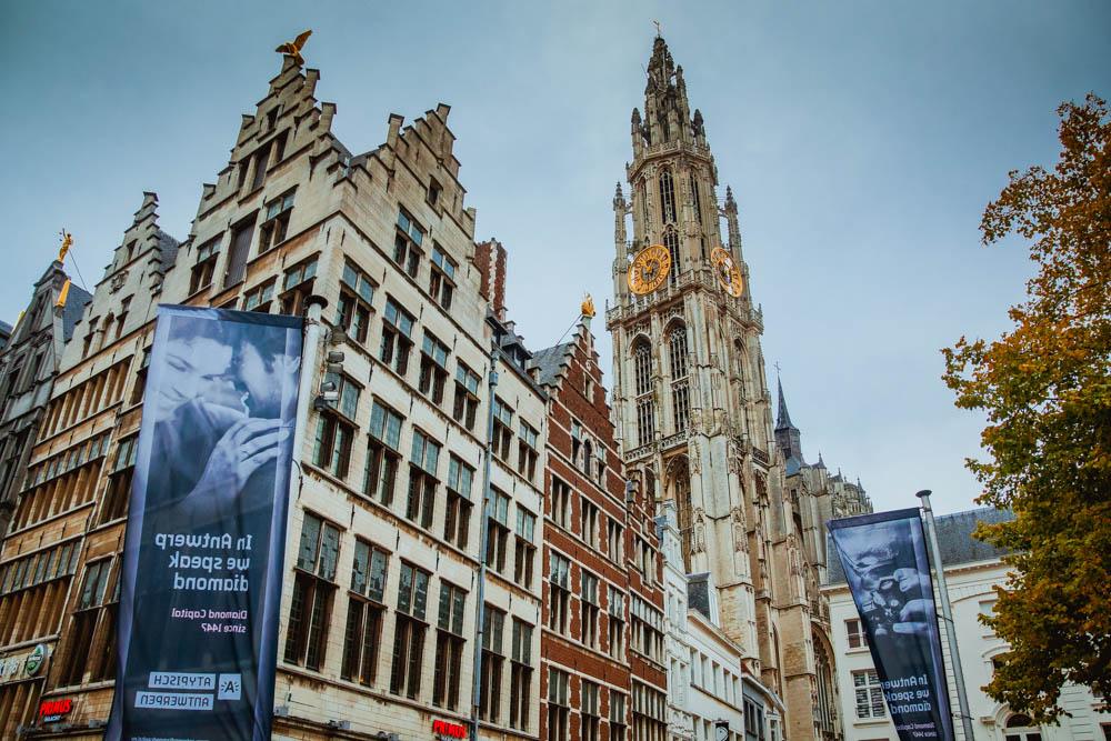 Innenstadt in Antwerpen