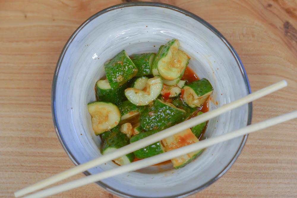 Schnelles Gurken-Kimchi - Rezept 1