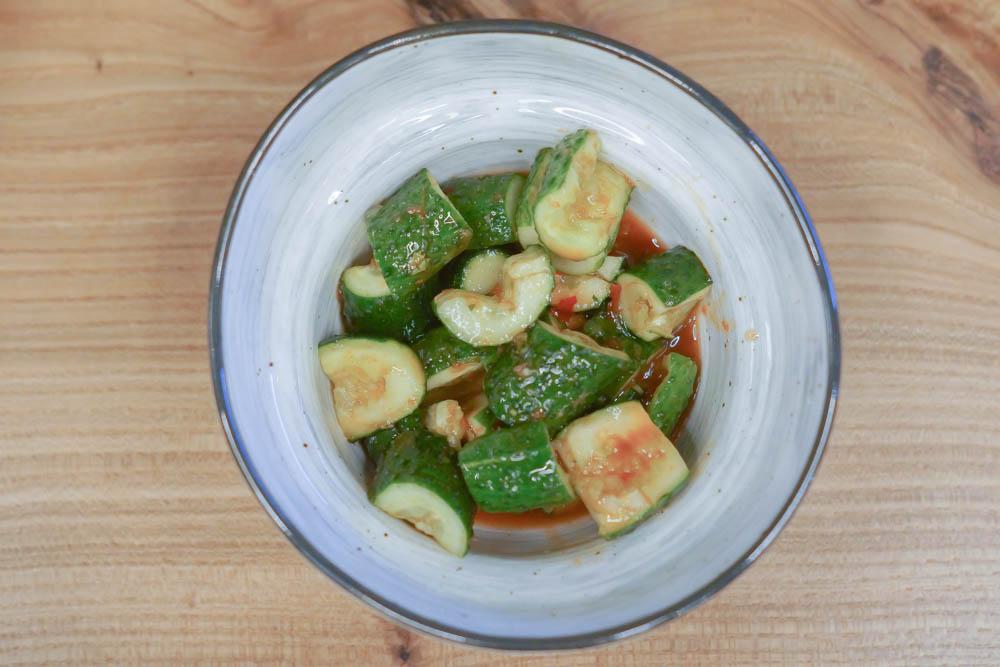 Schnelles Gurken-Kimchi - Rezept