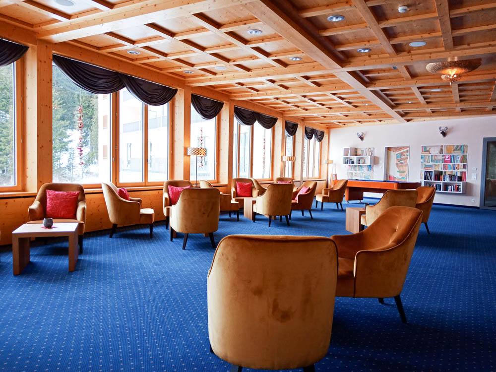Waldhotel National in Arosa - Lounge