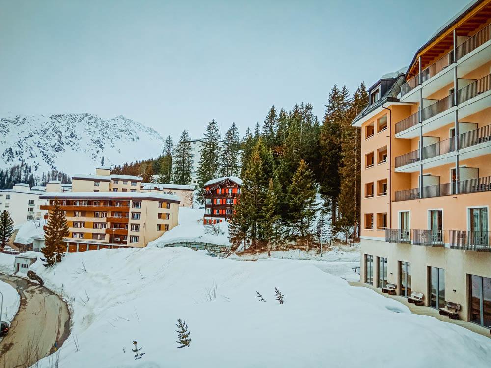 Waldhotel National in Arosa - Perfekt zum Skifahren