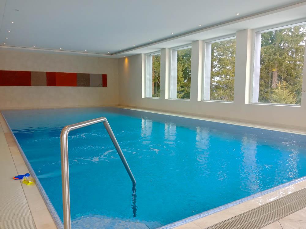 Waldhotel National in Arosa - Pool