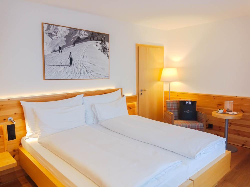 Waldhotel National in Arosa - große und helle Zimmer