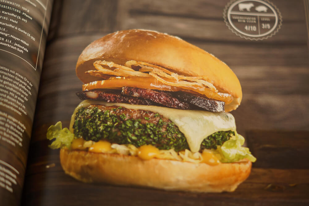 Burger Unser Kochbuch - Burgerrezept 2