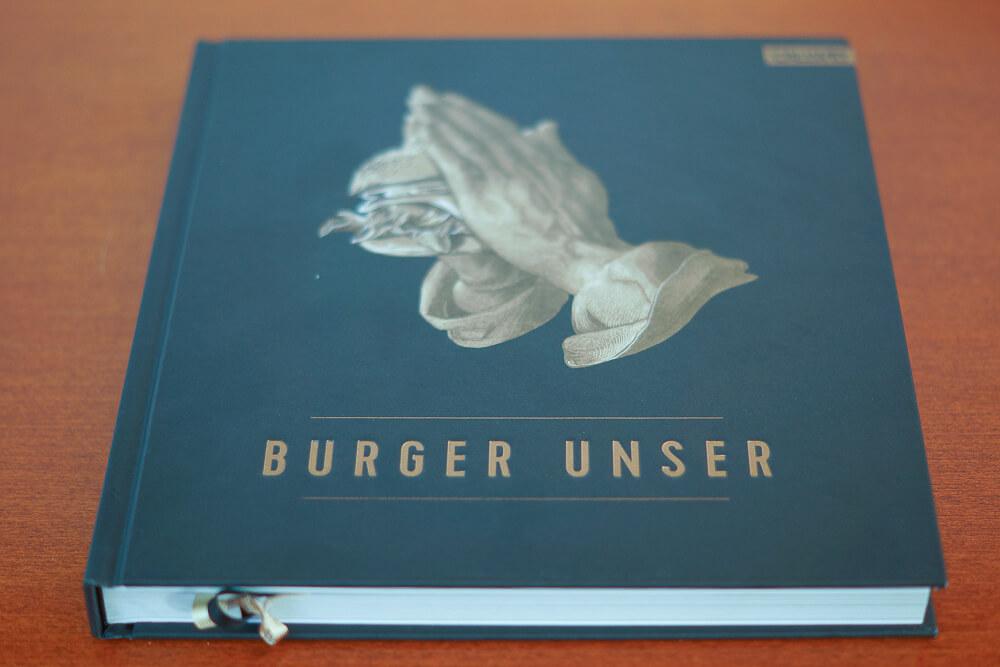 Burger Unser Kochbuch - Cover