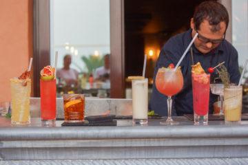 Bar mit Cocktails