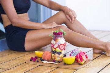 Fitness und Essen