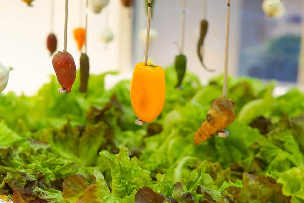 Twins Garden Restaurant Moskau - Gartenkreation im Restaurant