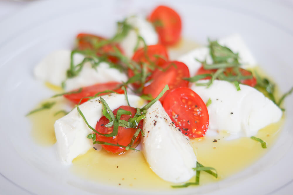 Chez Donati - Basel - Mozzarella Kombination