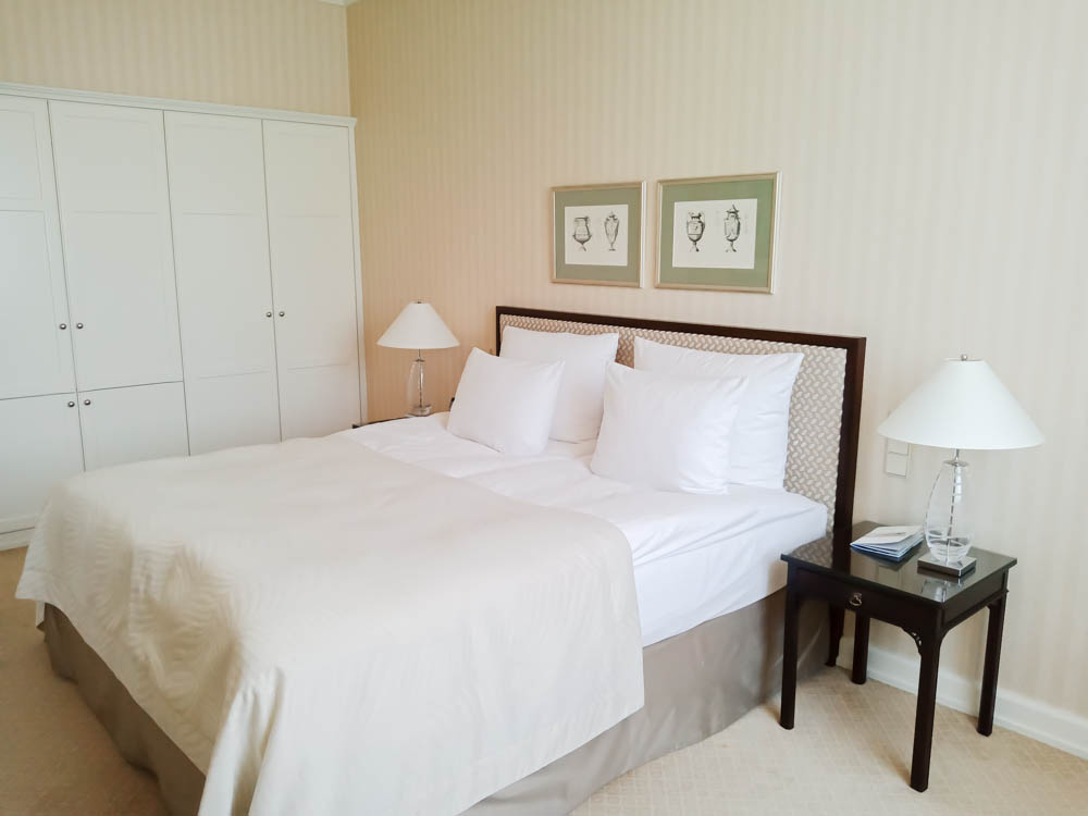 Helle und hochwertige Räume im Nassauer Hof
