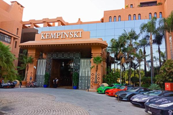 Kempinski Hotel Bahia - Eingang