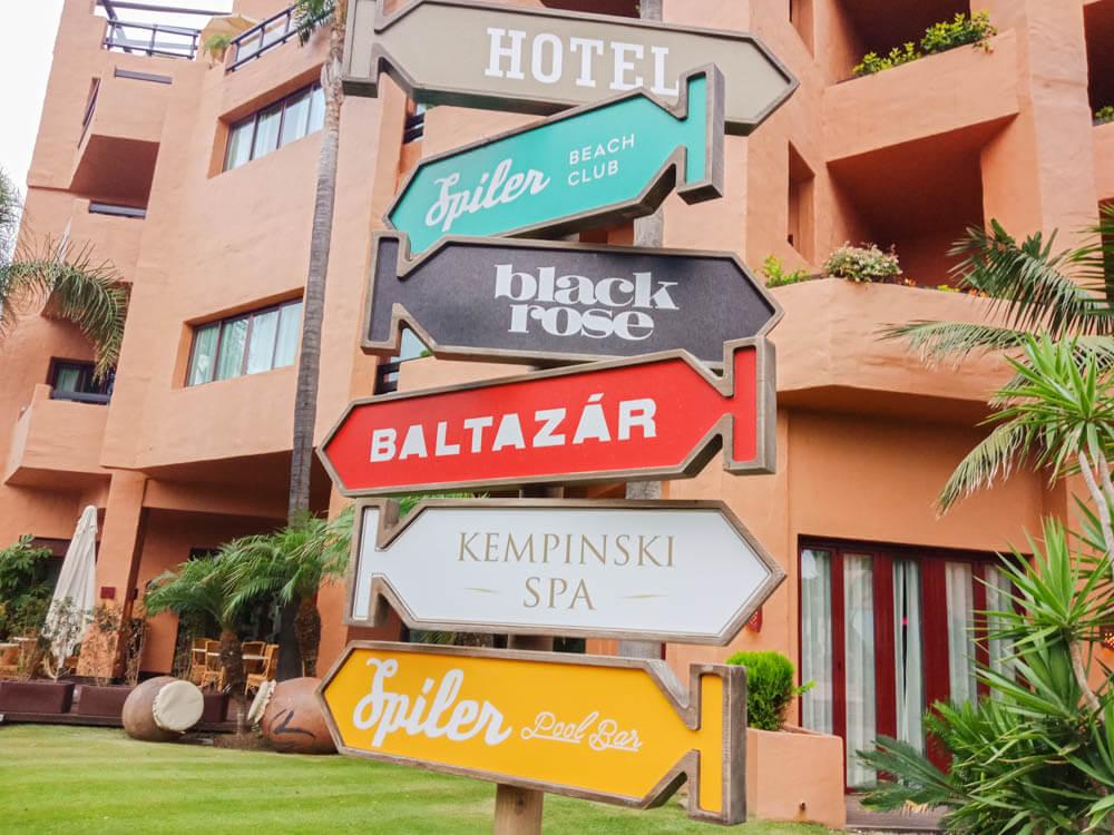Kempinski Hotel Bahia - Hier gehts lang
