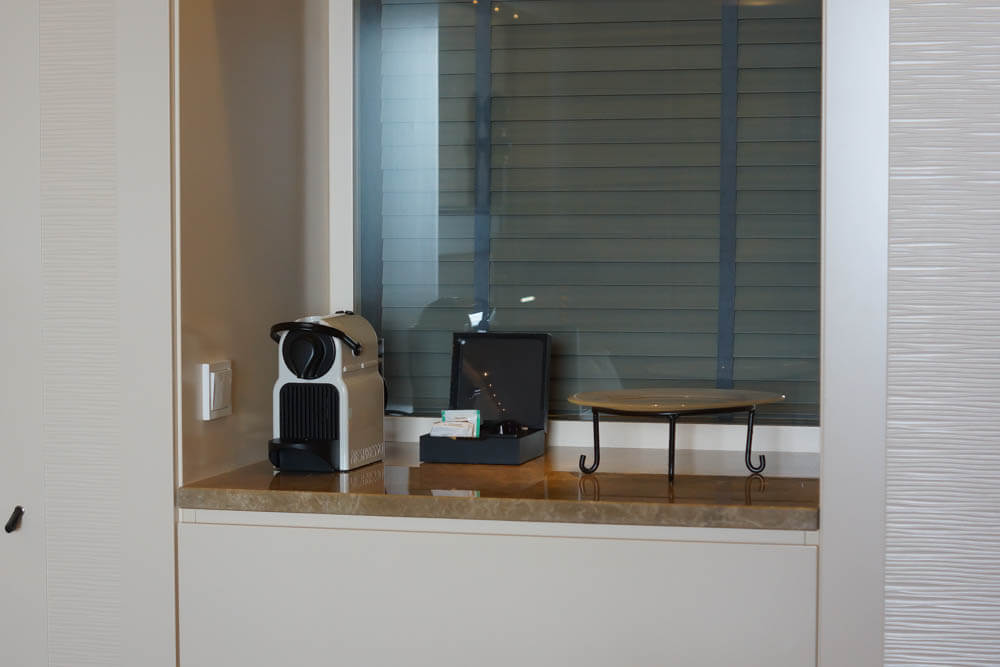 Kempinski Hotel Bahia - Kaffee, Tee, Wasser