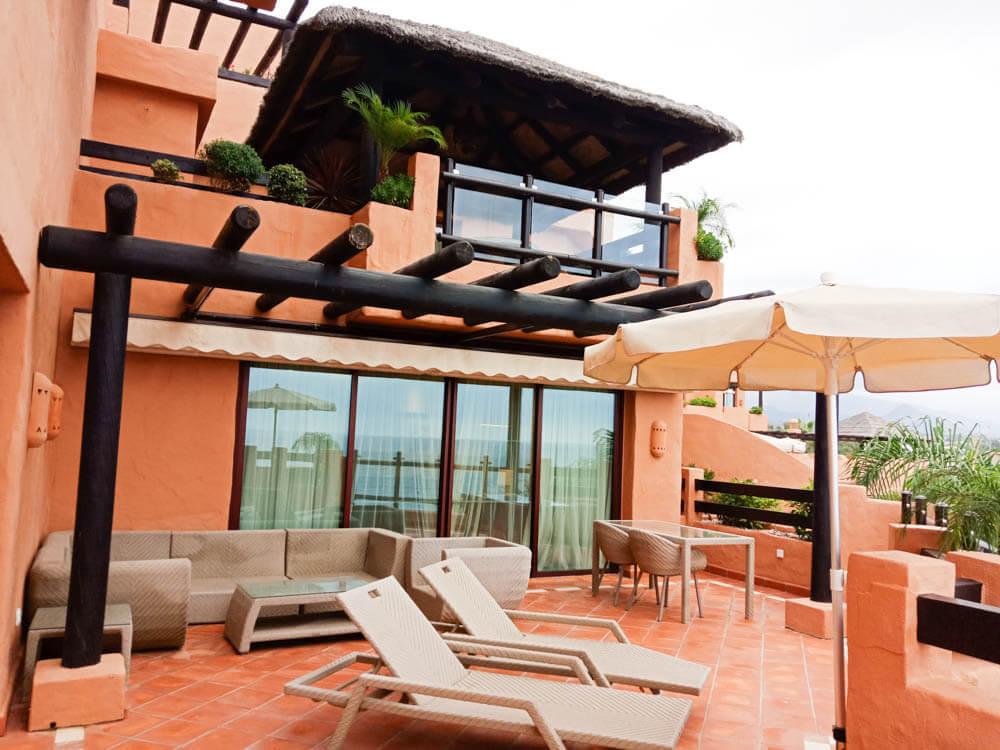 Kempinski Hotel Bahia - Suite von außen
