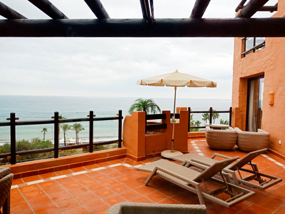 Kempinski Hotel Bahia - Terrasse einer Suite