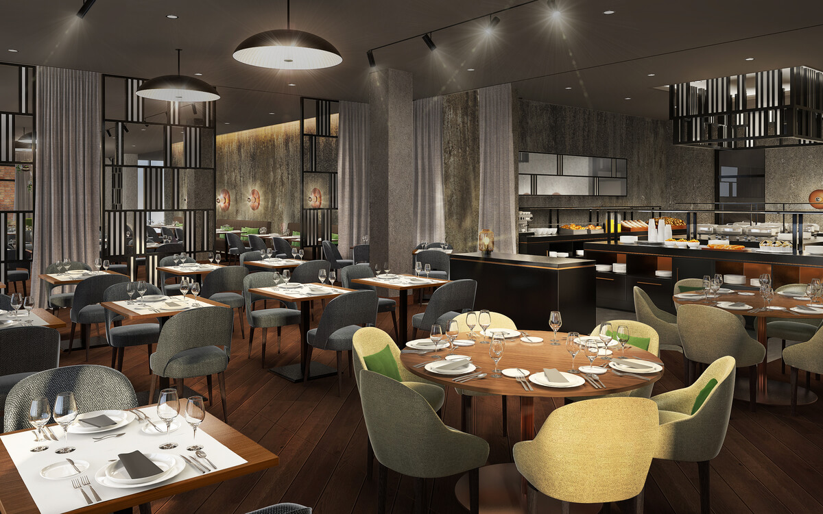 NH Hotel Mannheim Restaurant
