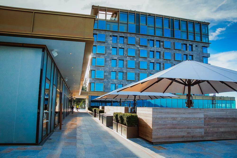 Bürgenstock Hotel - Außenansicht 2