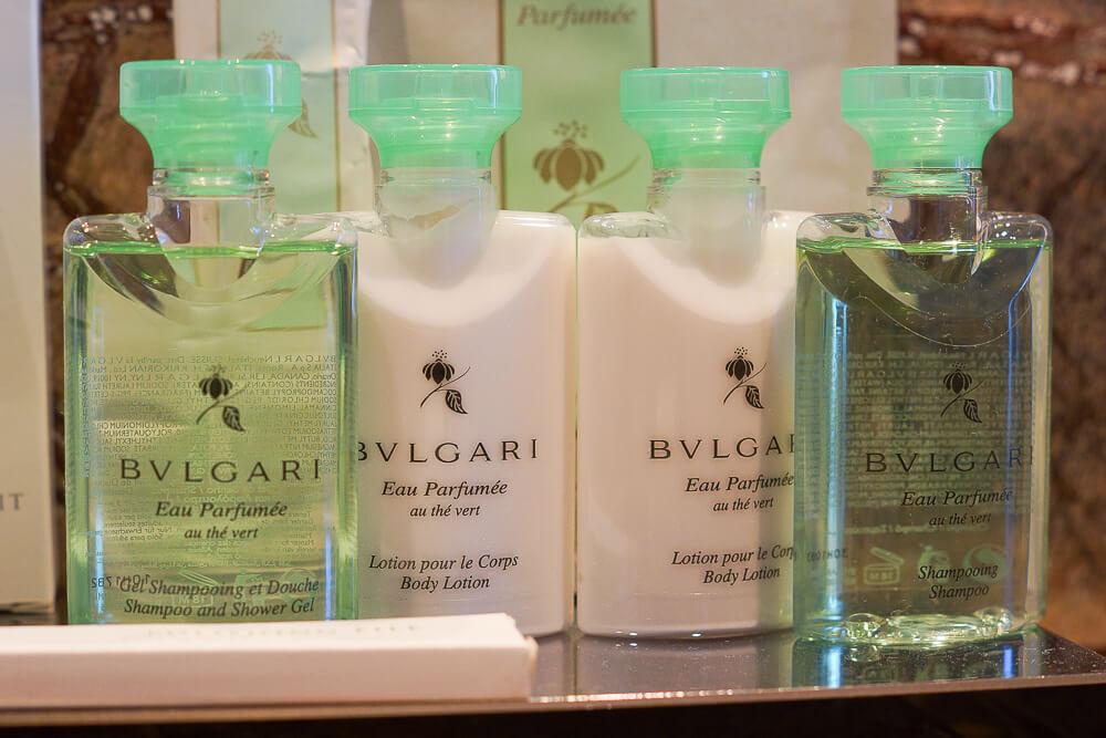 Bürgenstock Hotel - Bulgari Kosmetik