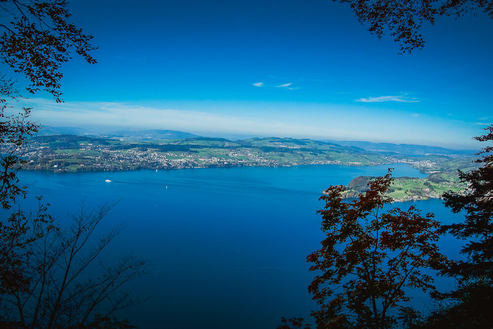 Bürgenstock Hotel - Der Vierwaldstätter See