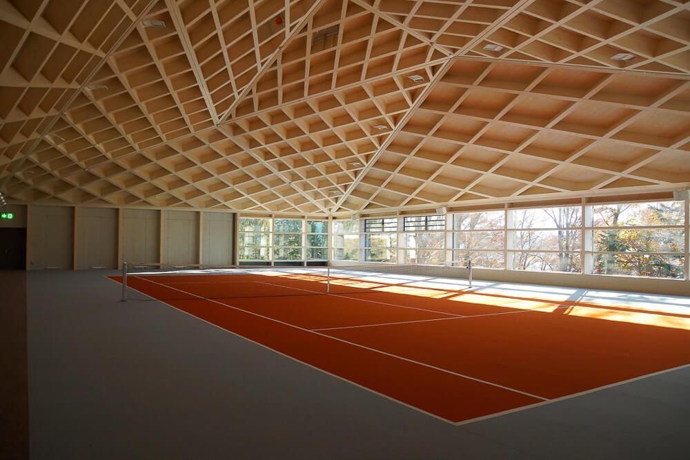 Bürgenstock Hotel - Die Tennishallen Diamond Domes