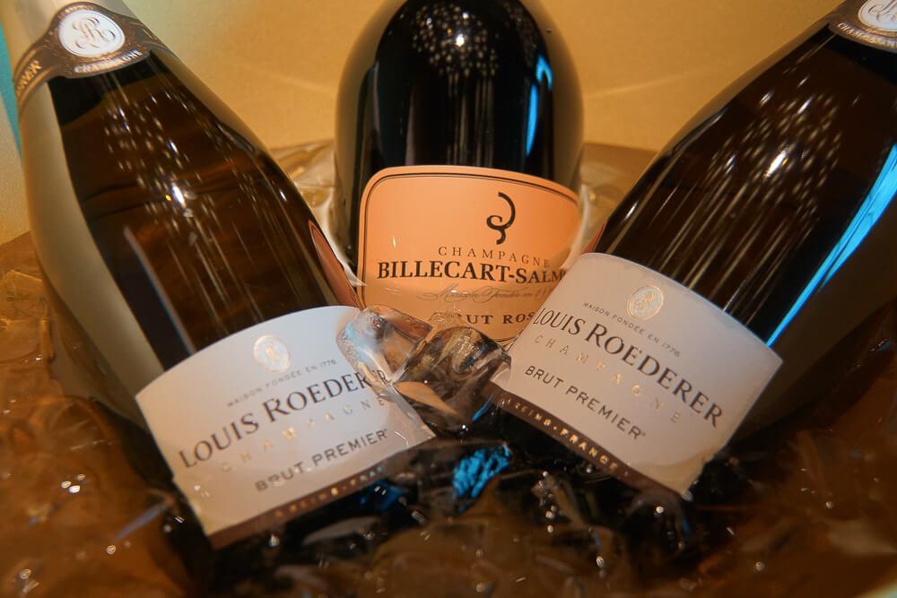 Bürgenstock Hotel - Exquisite Champagner Auswahl