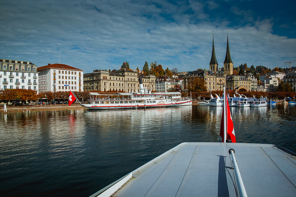 Bürgenstock Hotel -Luzerner Stadtansicht