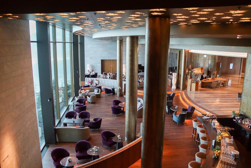 Bürgenstock Hotel - grandiose Lobby