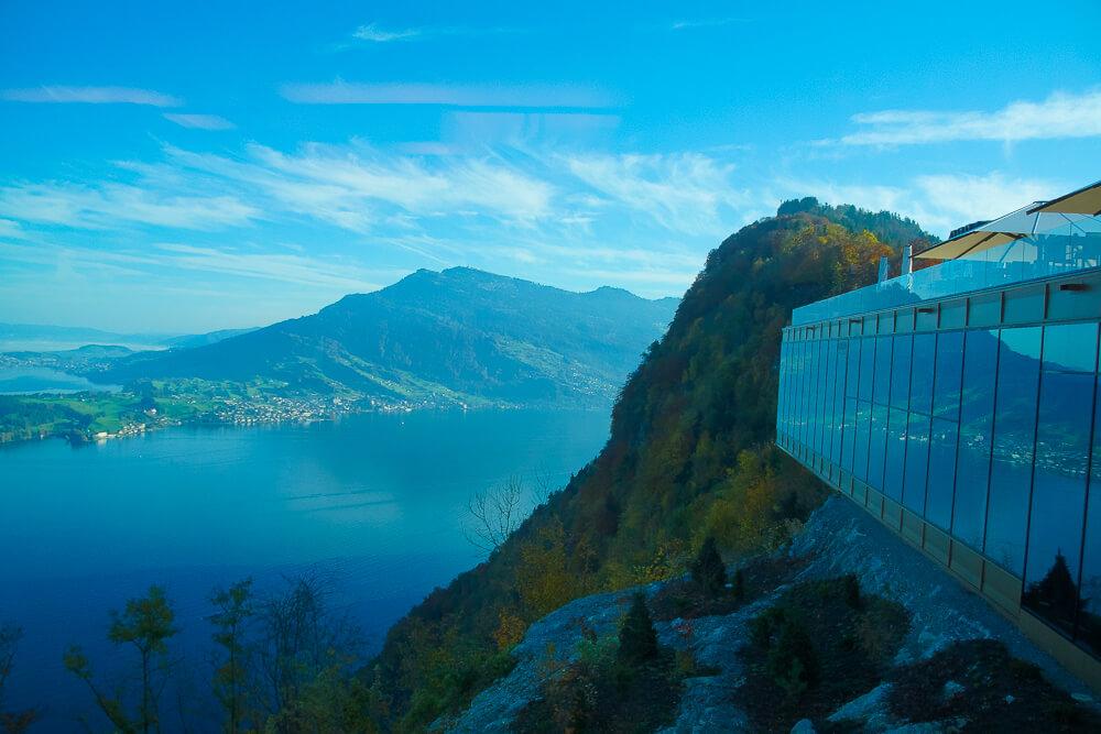 Bürgenstock Hotel -verzückende Aussicht
