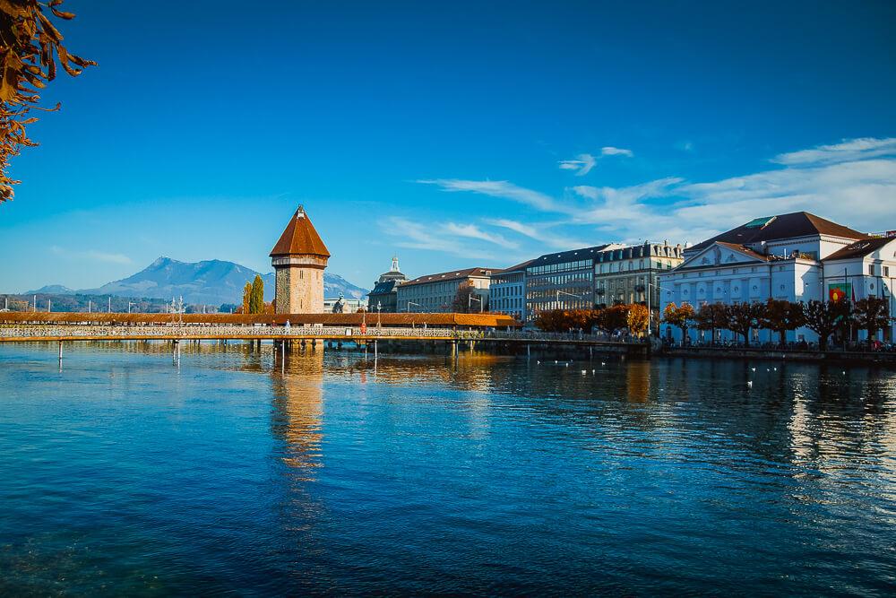 Die Luzerner Brücke