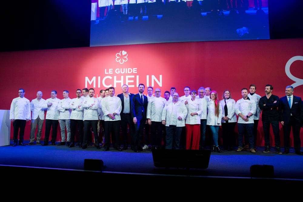 Guide Michelin Schweiz 2019