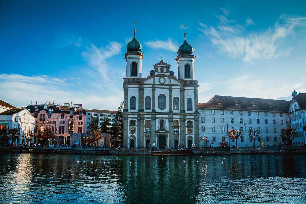 Luzern vom Wasser aus