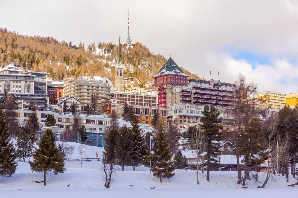 St. Moritz im Winter - einfach wunderbar