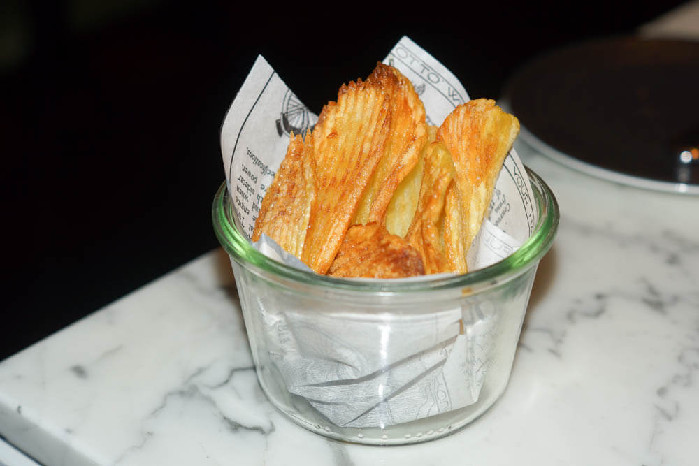 Stadt Restaurant Hamburg - Kartoffelchips