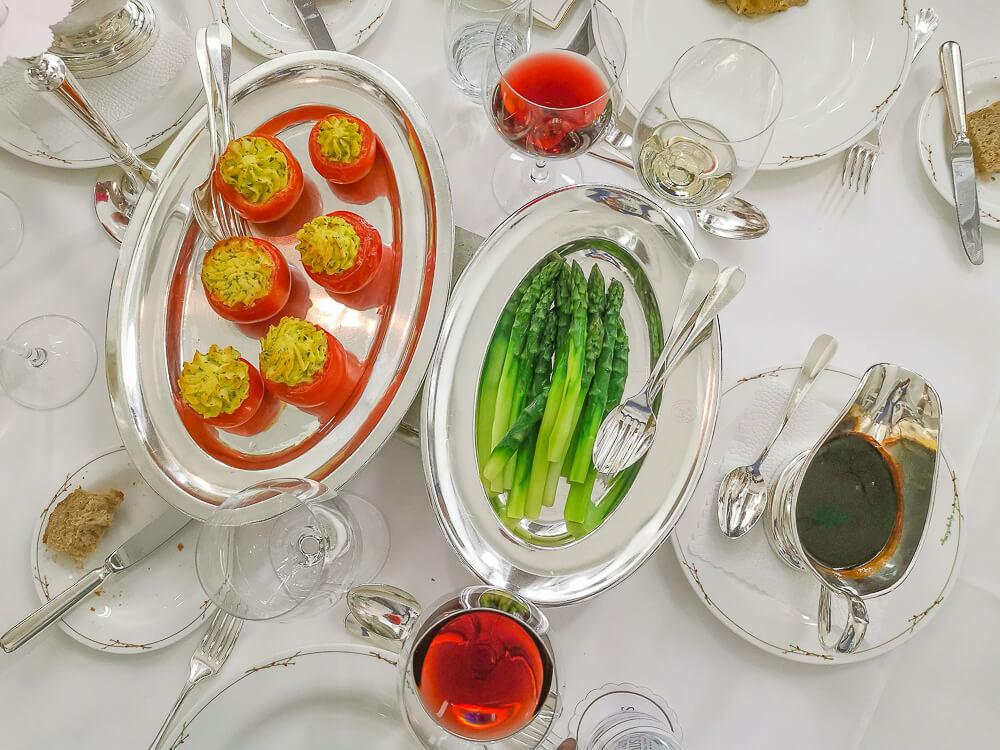 Waldhaus Sils Chefs Table - Gemüse zum Teilen - eine feine Idee